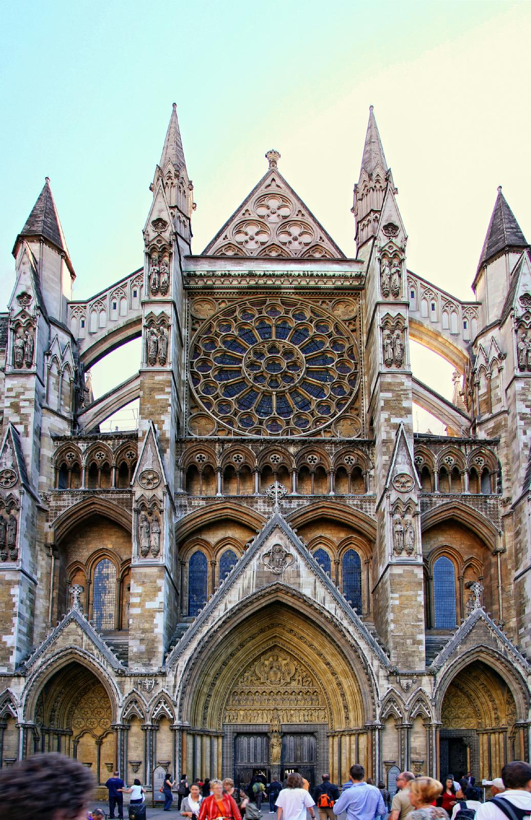 Westminster Abbey Constructed By English King Henry III During The Period 1245