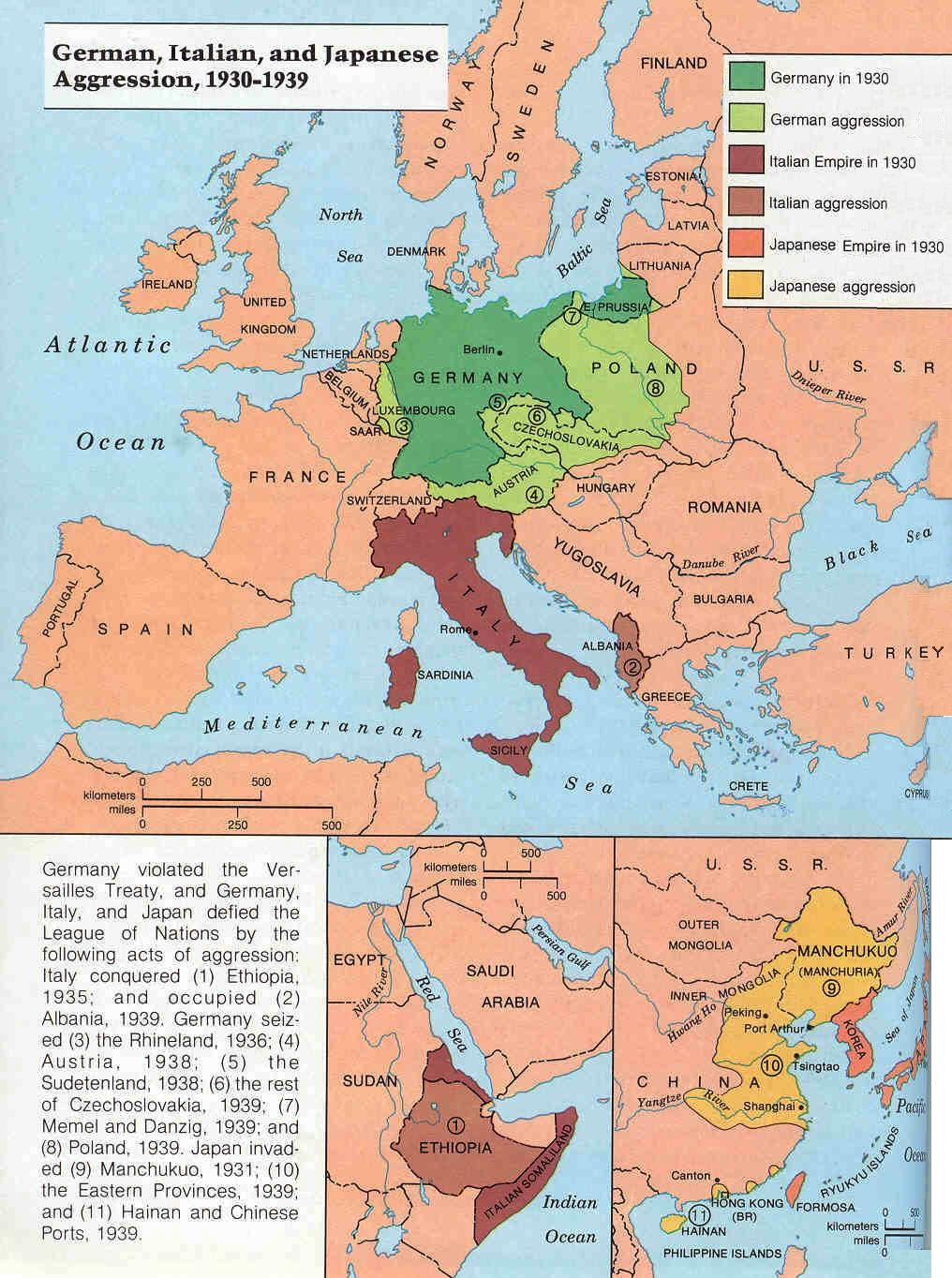 The Steps Toward War In Europe By Miles Hodges