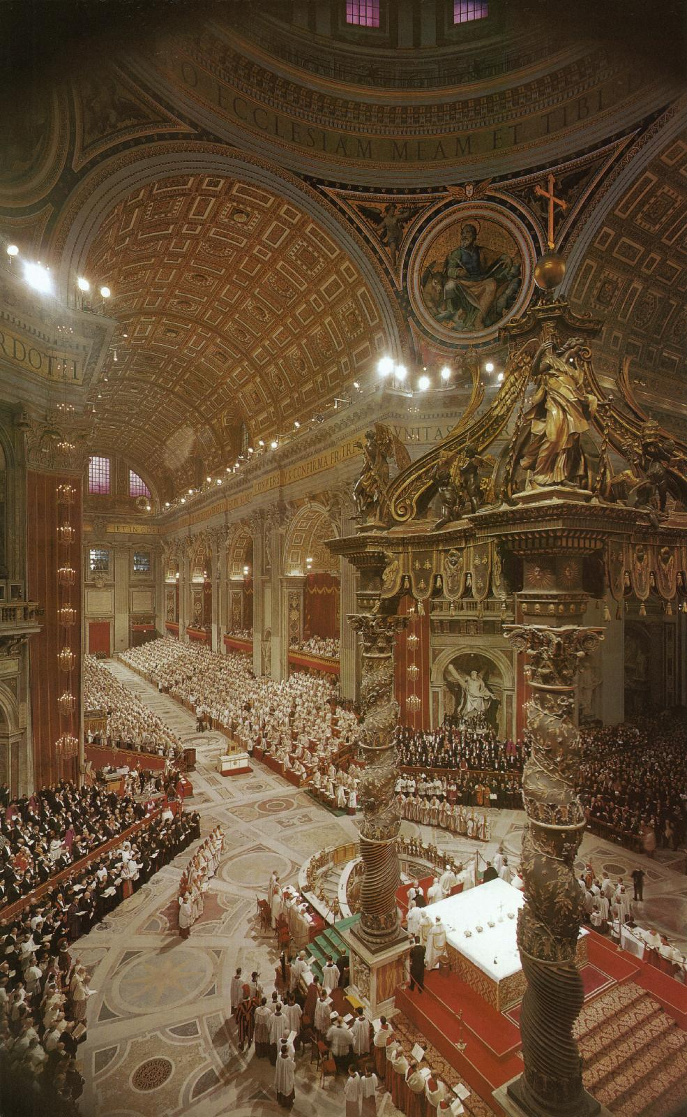 the second vatican council The second vatican council, fully the second ecumenical council of the vatican (latin: concilium oecumenicum vaticanum secundum) and informally known as vatican ii, addressed relations between the catholic church and the modern world.